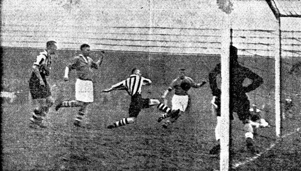 Kitchen scores the only goal of the game v Wrexham
