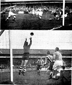 Match Action from 8th Sept 1936 v Carlisle United