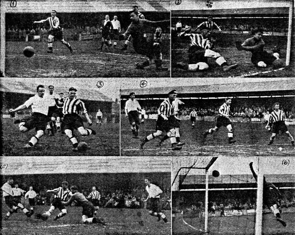 Forwards back in form v Hull City in 1939