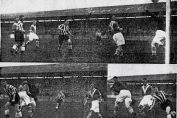 Southport win at home to Barrow in November 1938