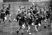 Pre-Season training at Haig Avenue 1937/38