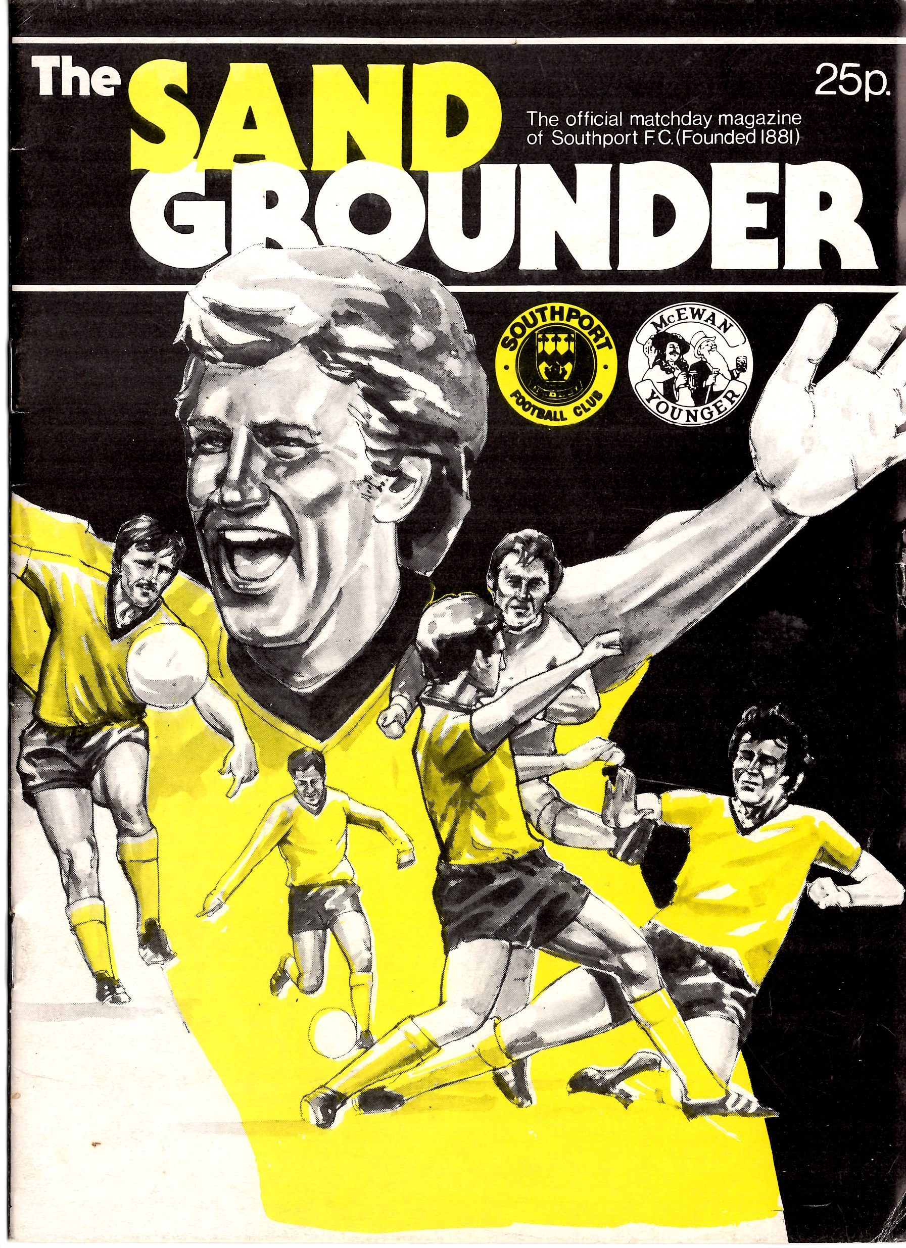 1984-86 Programme Cover