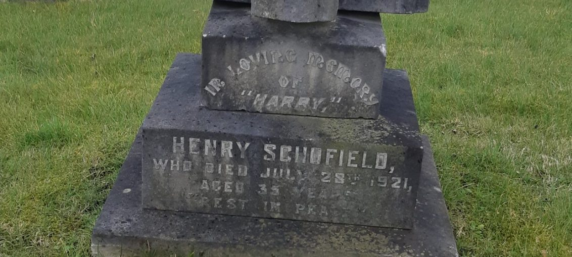 Harry Schofield