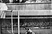 Match action from game against Barnsley in Oct 1938