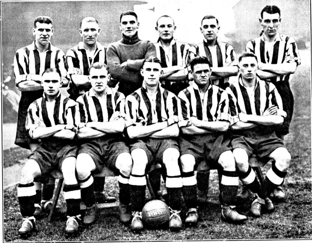 Team Photo - 22nd Dec 1934 v Wrexham