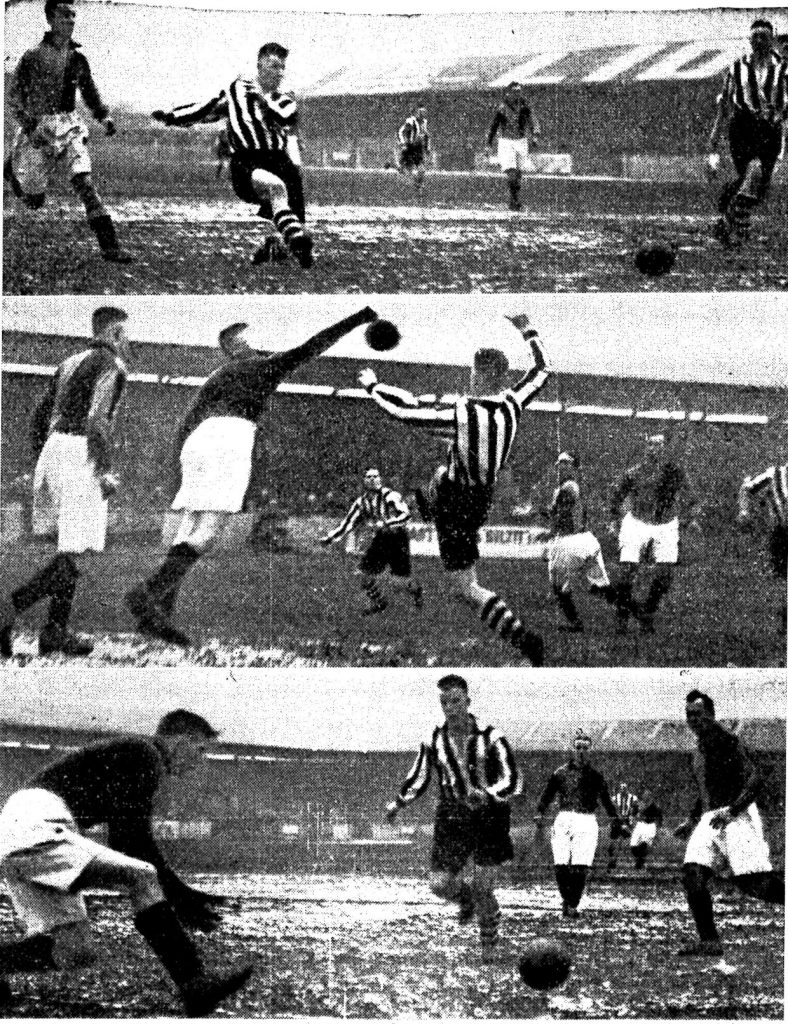 Match Action from Southport v Mansfield 30th Jan 1937