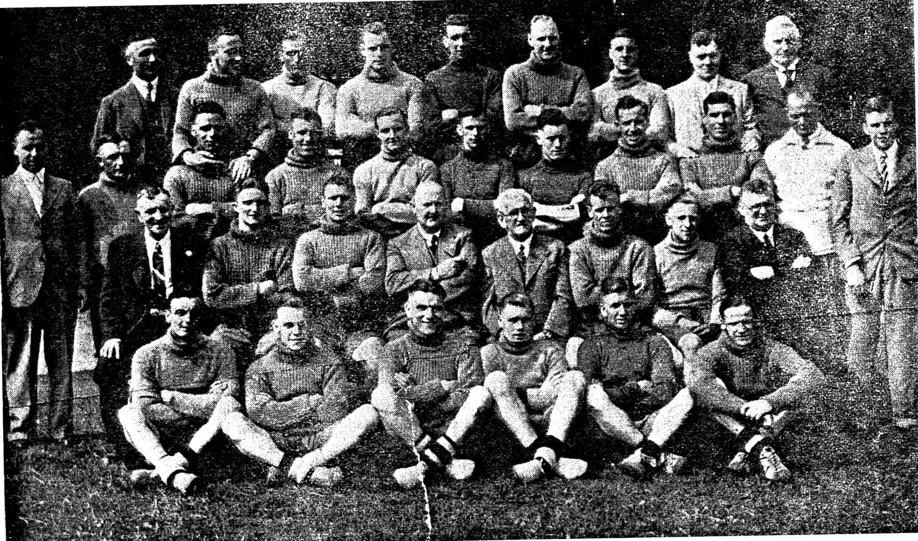 1938/39 Team Photo