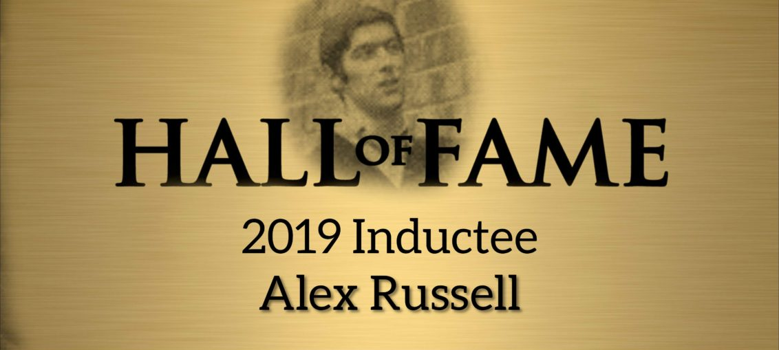 Alex Russell HOF 2019 Inductee