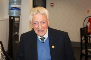 Eddie Moss at the 2019 Hall of Fame Ceremony