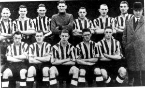 Team Photo -15th December 1934 v Tranmere Rovers