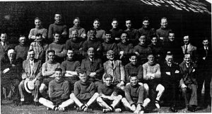 President, Directors, Staff and Players 1939/40