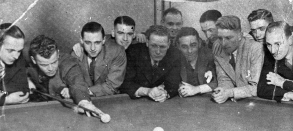 Relaxation prior to the Bristol Cup Tie - Dec 9, 1936