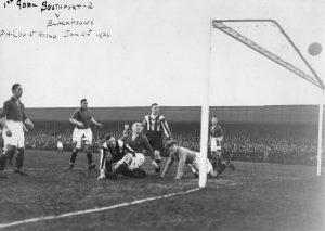 First Goal v Blackpool - 24/1/1931