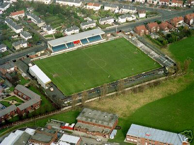 Haig Avenue From The Air